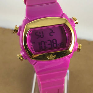 adidas Accessories - Adidas Pink and Gold Sports Watch